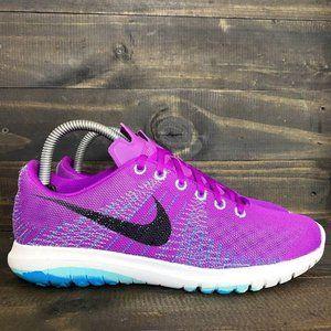Nike Women's Size 7.5 Flex Fury Vivid Purple/Black